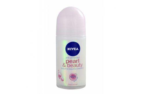 Nivea Pearl & Beauty 48h 50 ml antiperspirant pro jemné podpaží pro ženy Antiperspiranty