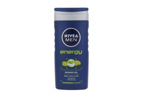 Nivea Men Energy 250 ml sprchový gel na tělo, tvář a vlasy pro muže Sprchové gely