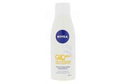 Nivea Q10 Plus 200 ml protivráskové čisticí mléko pro ženy Čisticí mléka