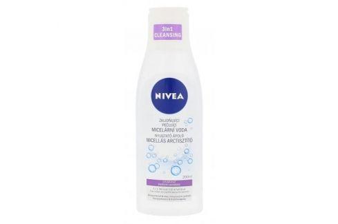Nivea Sensitive 3in1 Micellar Cleansing Water 200 ml zklidňující čisticí voda pro citlivou pleť pro ženy Micelární vody
