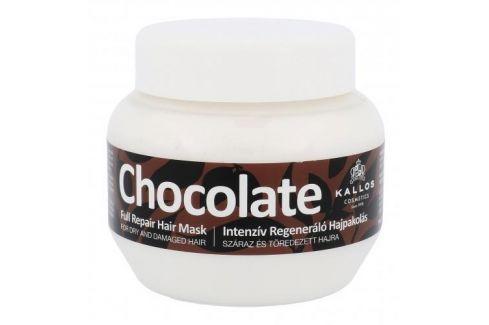 Kallos Cosmetics Chocolate 275 ml maska pro suché a poškozené vlasy pro ženy Masky na vlasy
