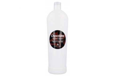 Kallos Cosmetics Chocolate 1000 ml regenerační šampon pro suché a poškozené vlasy pro ženy Šampony