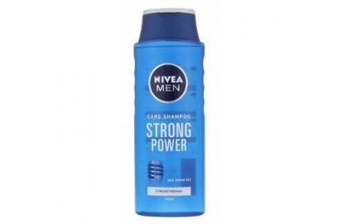 Nivea Men Strong Power 400 ml šampon pro muže Šampony