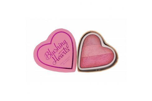 Makeup Revolution London I Heart Makeup Blushing Hearts 10 g tvářenka pro ženy Blushing Heart Tvářenky