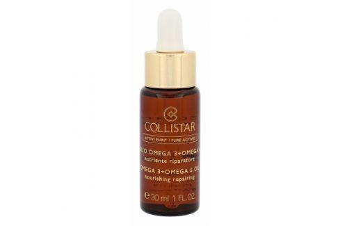 Collistar Pure Actives Omega 3 + Omega 6 Nourishing Repairing Oil 30 ml pleťové sérum proti vráskám pro ženy Pleťová séra
