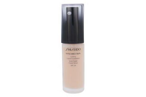 Shiseido Synchro Skin Lasting Liquid Foundation SPF20 30 ml dlouhotrvající make-up s uv filtrem pro ženy Rose 2 Makeupy