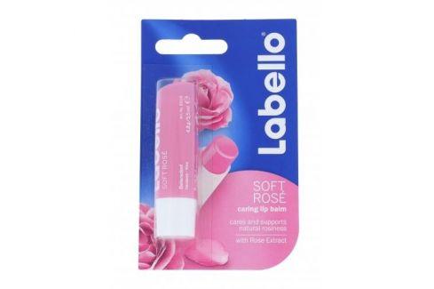 Labello Soft Rose 5,5 ml balzám na rty pro ženy Balzámy na rty