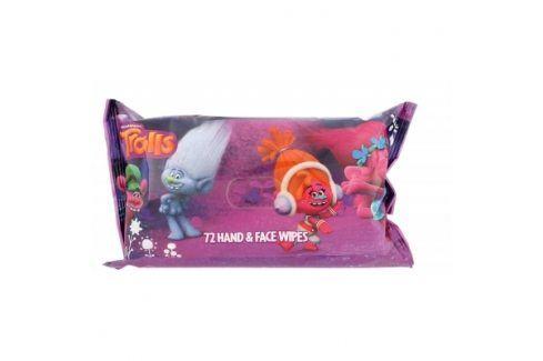 DreamWorks Trolls 72 ks čisticí ubrousky Čisticí ubrousky
