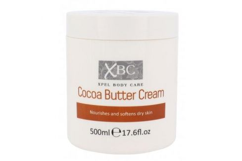 Xpel Body Care Cocoa Butter 500 ml hydratační tělový krém pro ženy Tělové krémy