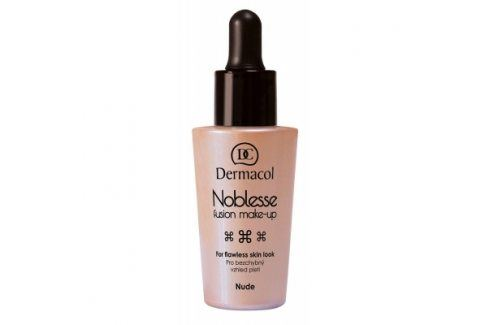 Dermacol Noblesse Fusion Make-Up SPF10 25 ml makeup pro ženy Nude Makeupy