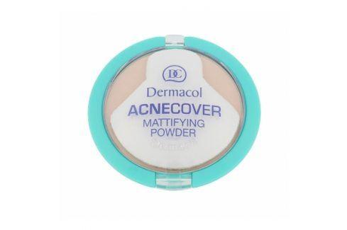 Dermacol Acnecover 11 g matující pudr pro problematickou pleť pro ženy Sand Pudry