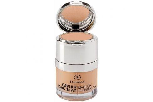 Dermacol Caviar Long Stay Make-Up & Corrector 30 ml makeup pro ženy 1 Pale Makeupy
