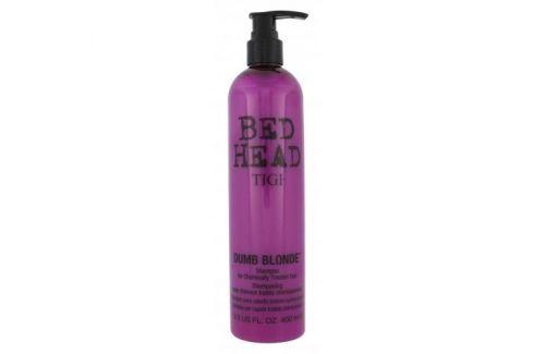Tigi Bed Head Dumb Blonde 400 ml šampon pro poškozené vlasy pro ženy Šampony