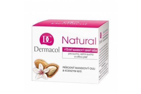 Dermacol Natural Almond 50 ml denní krém na velmi suchou pleť pro ženy Denní pleťové krémy