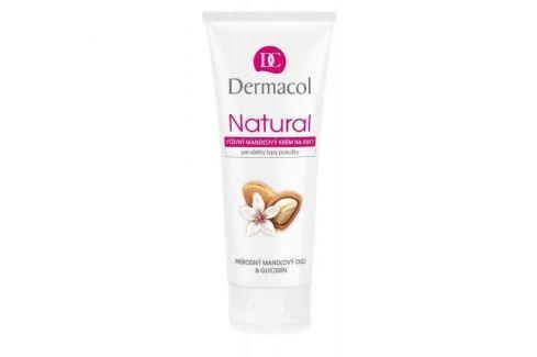 Dermacol Natural Almond 100 ml výživný mandlový krém na ruce pro ženy Krémy na ruce