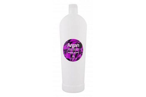 Kallos Cosmetics Argan 1000 ml vyživující šampon pro barvené vlasy pro ženy Šampony
