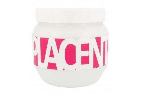 Kallos Cosmetics Placenta 800 ml maska pro suché a poškozené vlasy pro ženy Masky na vlasy