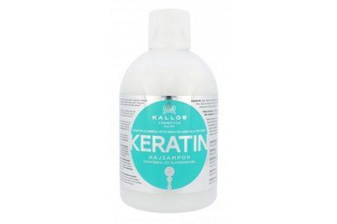Kallos Cosmetics Keratin 1000 ml regenerační šampon na vlasy s keratinem pro ženy Šampony