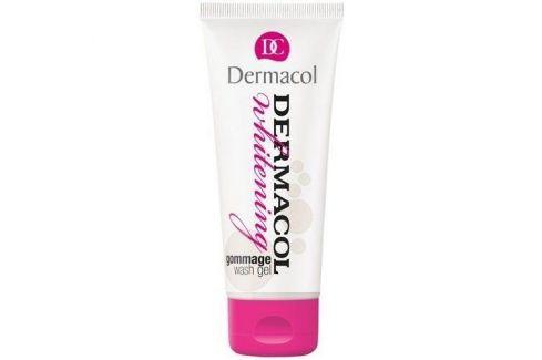 Dermacol Whitening Gommage Wash Gel 100 ml mycí gel s mikroperličkami proti pigmentovým skvrnám pro ženy Čisticí gely
