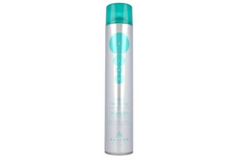 Kallos Cosmetics Keratin 750 ml extra silný lak na vlasy s keratinem pro ženy Laky na vlasy
