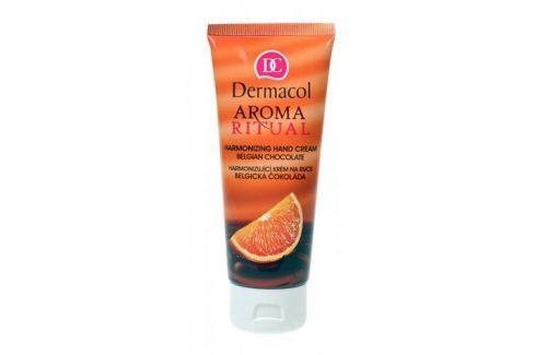 Dermacol Aroma Ritual Belgian Chocolate 100 ml hydratační krém na ruce pro ženy Krémy na ruce