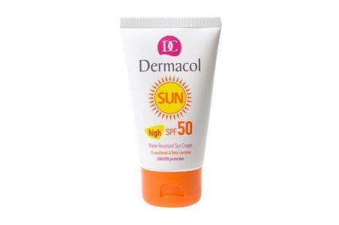 Dermacol Sun WR Sun Cream SPF50 50 ml opalovací krém na obličej pro ženy Opalovací přípravky na obličej