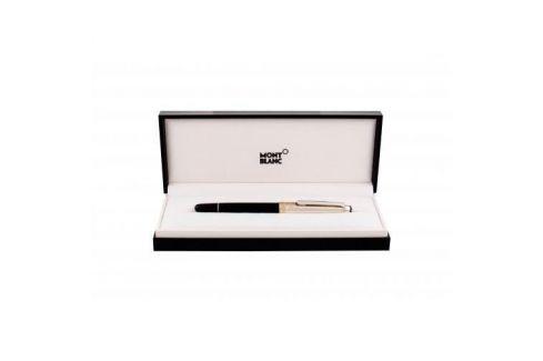 Montblanc Meisterstück Classique Doue Silver Barley 163 1 ks luxusní pero unisex Luxusní pera