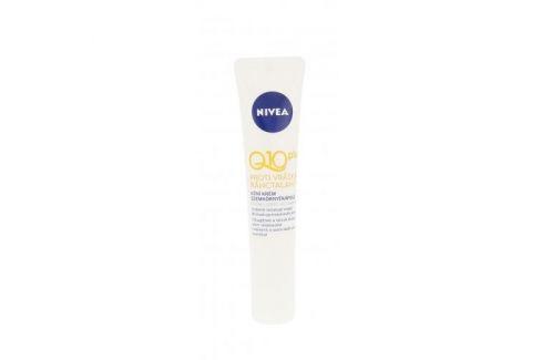 Nivea Q10 Plus 15 ml oční krém pro viditelnou redukci vrásek pro ženy Oční krémy