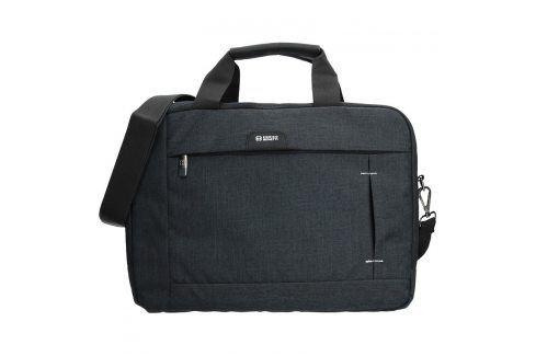 Pánská taška přes rameno Enrico Benetti Paul - černá Kabelky a aktovky