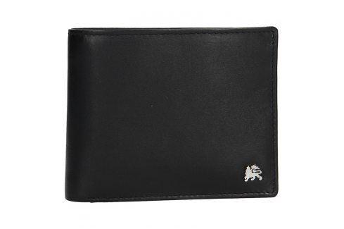 Kožená pánská peněženka Lerros Radovan - černá Peněženky