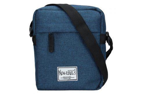 09d30ccb6c961 Pánská taška přes rameno New Rebels Luis - modrá Tašky a aktovky