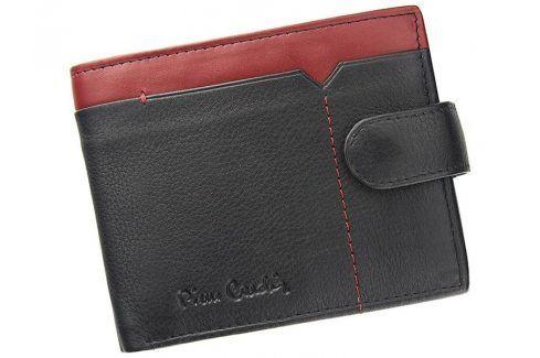 Pánská kožená peněženka Pierre Cardin Uran - černo-červená Peněženky