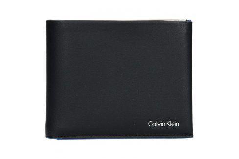Najdi Pánská kožená slim peněženka Calvin Klein Agard - černá ... 77b8c1991cf