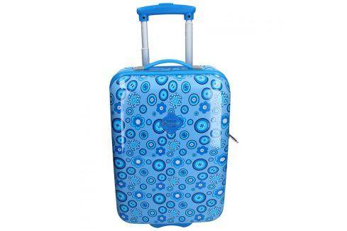 Palubní cestovní kufr Snowball Silva - modrá 29l Cestovní zavazadla