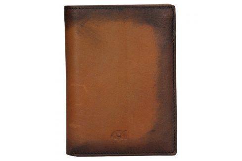 Pánská kožená peněženka Daag Alive P01 - koňak Peněženky