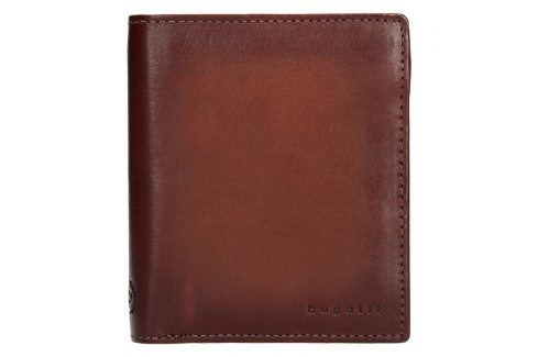 Pánská kožená peněženka Bugatti Robin - koňak Peněženky