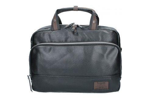 Pánská taška přes rameno Bugatti Moto DW - černá Tašky a aktovky