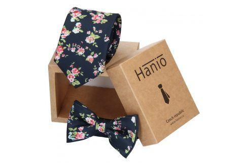 Sada kravata a motýlek Hanio K0255 Kravaty a motýlky
