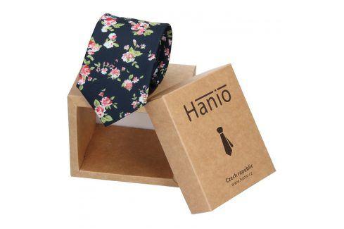 Pánská kravata Hanio Andrew - černá Kravaty a motýlky