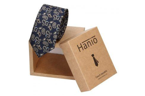Pánská kravata Hanio Tyler - modrá Kravaty a motýlky