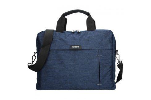 Pánská taška přes rameno Enrico Benetti Oktavius - modrá Tašky a aktovky