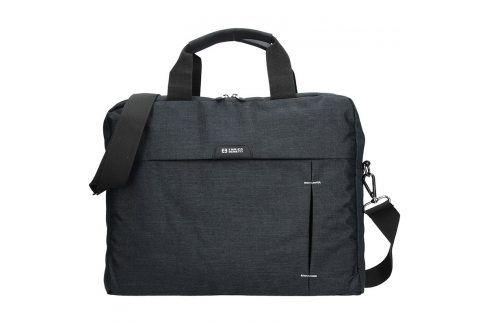 Pánská taška přes rameno Enrico Benetti Oktavius - černá Tašky a aktovky