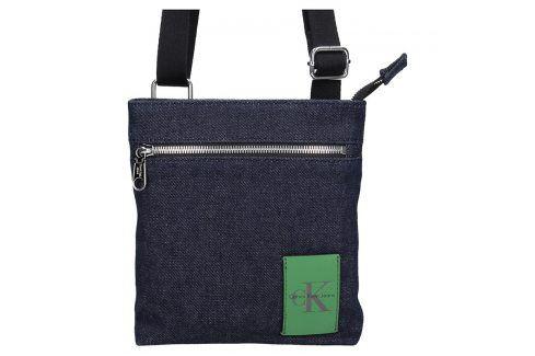 Pánská taška přes rameno Calvin Klein Micro Flat Denim Tašky a aktovky