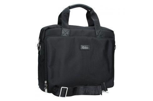 Pánská kožená taška přes rameno Katana Selem - černá Tašky a aktovky