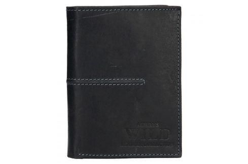 Pánská kožená peněženka Always Wild Romelo - černá Peněženky
