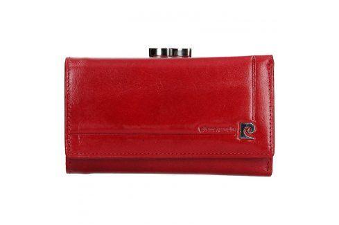 Dámská kožená peněženka Pierre Cardin Renata - červemá Peněženky
