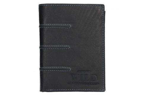 Pánská kožená peněženka Always Wild Marco - černá Peněženky