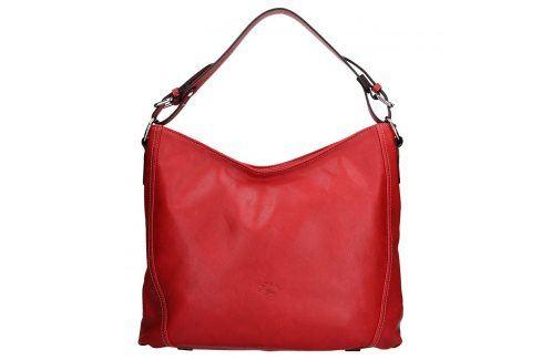 Elegantní dámská kožená kabelka Katana Nicol - červená Kabelky
