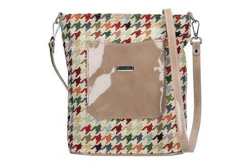 Dámská crossbody kabelka Facebag Ornela - béžová Kabelky
