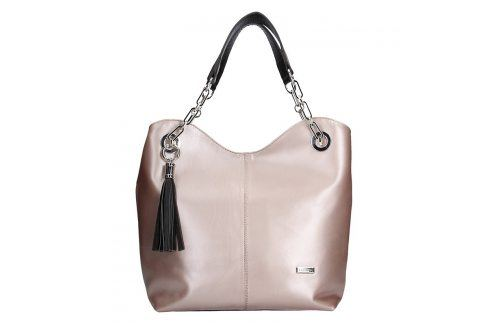 Dámská kožená kabelka Facebag Sofia - růžová Kabelky